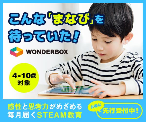WonderBox(ワンダーボックス)【steam教育】
