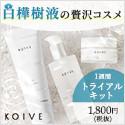 KOIVE(コイヴ) 白樺樹液の化粧品